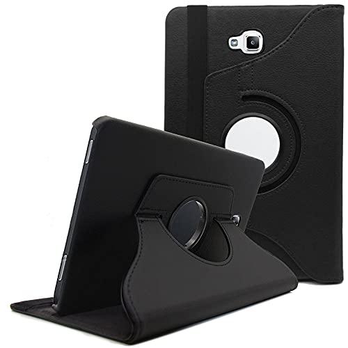Hious Hülle für Samsung Galaxy Tab A6 10.1 Tablet Standfunktion Slim PU Leder Smart Schutzhülle Cover Hülle Tasche Passt Samsung Galaxy Tab A 10.1 (SM-T580/T585/T587) 2016