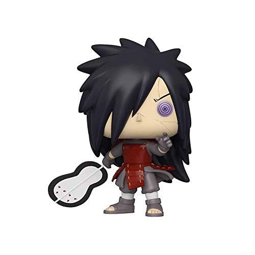 DHRBK Pop Naruto Uchiha Madara Figuren, Anime Modell Puppen Figur PVC Spielzeug, Figur Modell Tisch Schreibtisch Dekoration Statuen Multicolor