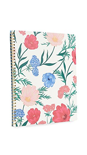 Kate Spade New York Large Spiral Notebook with 160 College Ruled Pages,...