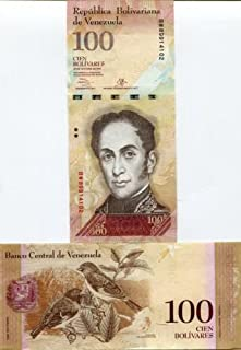 Venezuela Paper Banknotes 100 Bolivares Fuertes
