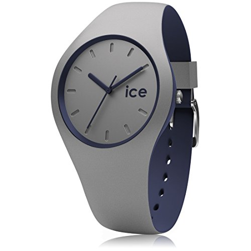 Ice-Watch - ICE duo Cloud - Montre grise mixte avec bracelet en silicone -...