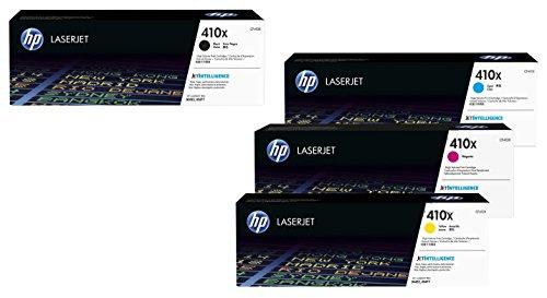 Hewlett Packard HP Origineel 410X Toner 4er Set zwart, cyaan, magenta, yellowhohe Kapazität