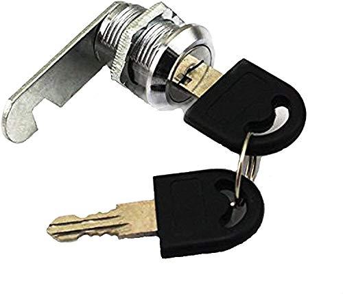 Doutop Serratura per Armadietto Blocco Del Cassetto Serrature Dell'armadio per Cassetto Letter Box con le Chiavi 16mm 20mm 25mm 30mm
