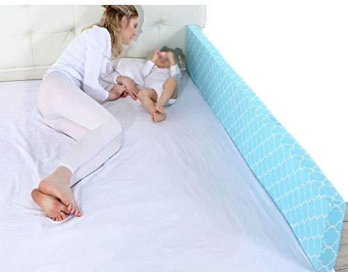 WYH Bettzaun, einfache weiche Tasche, Krippenschutz, Fallschutz, Bettschutzgitter für Babys, langlebig, 1,5 m