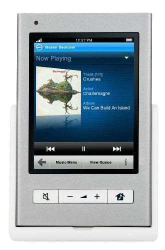 Sonos Control Steuerung für Sonos-Player (wireless multiroom music streaming, Touchscreen, inkl. Halterung) grau