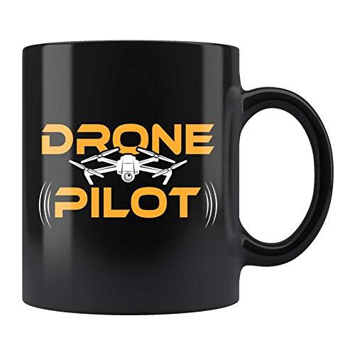 ZMKDLL Drone Pilot Mug, Drone Mug, Drone Gift, Drone Operator Gift, Drone Pilot Gift, Drone Operator Mug, Commercial Drone Coffee Mug 11 oz Mug