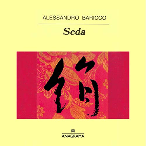 Diseño de la portada del título Seda