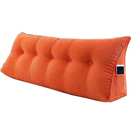 HDGZ Cojín Triangular para sofá o Cama o como Respaldo para despacho, tamaño Grande, Lavable, Protege el Cuello, multifunción (Color : G, Size : 120 * 23 * 50)