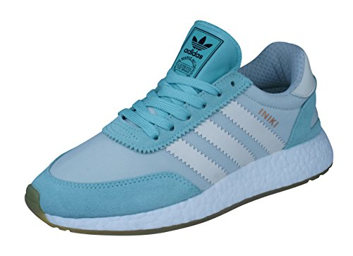 adidas Damen I-5923 Iniki Runner Hallenschuhe, Grün (Green/White Green/White), 37 EU