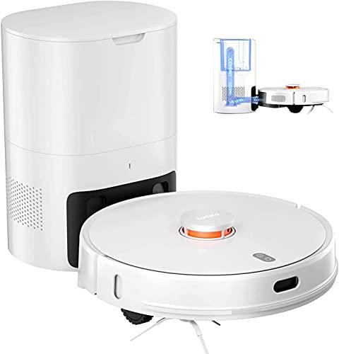 Lydsto R1 - Aspirapolvere robot e pulitore per mocio con stazione di polvere, 2700 Pa aspirazione,...