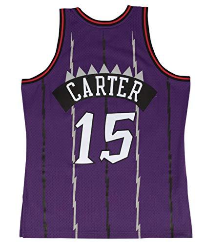 Mitchell & Ness Toronto Raptors Vince Carter 1998 Road Swingman Jersey (Large)