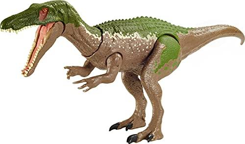 Jurassic World GVH65 - Brüll-Attacke Baryonyx, Dinosaurier-Actionfigur, beweglich und mit realistischen Geräuschen, ab 4 Jahren