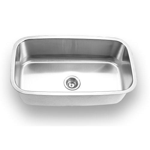 Yosemite Home Decor MAG3118 18-Gauge Stainless Steel Undermount Kitchen Sink