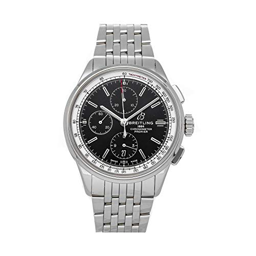 Breitling Premier Automatic Black Dial Watch A13315351B1A1 (Pre-Owned)