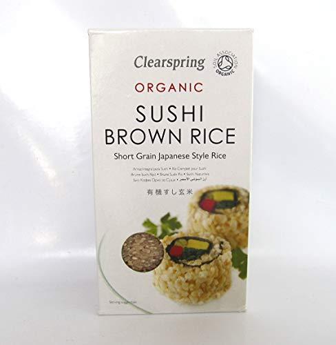 Clearspring 500g Sushi de riz brun