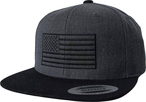 Cap: USA Flagge - United States Amerika Fahne - Flexfit Urban Streetwear Basecap - Geschenk-e für Männer Mann Frau-en - Baseball-cap Mütze Kappe - Biker Army US Stars Stripes (One Size)
