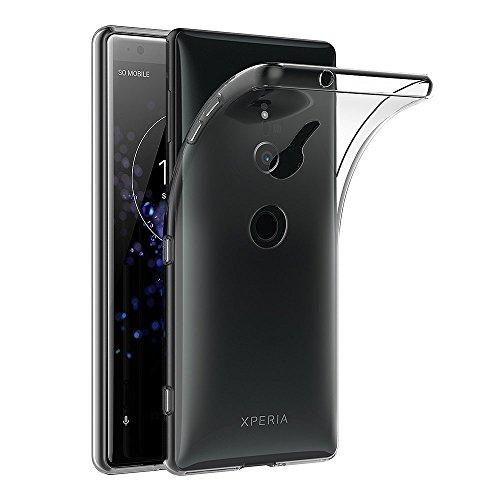 AICEK Sony Xperia XZ2 Hülle, Transparent Silikon Schutzhülle für Sony XZ2 Hülle Clear Durchsichtige TPU Bumper Xperia XZ2 Handyhülle (5,7 Zoll)