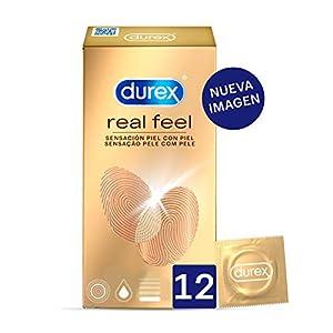 Durex Preservativos Sensitivos Real Feel Sin Látex - 12 condones