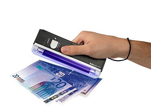 Verifica Banconote False soldi falsi Documenti Rilevatore New Safescan 40H