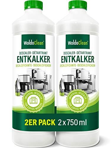 Odkamieniacz do ekspresu do kawy 2 x 750 ml – kompatybilny ze wszystkimi producentami