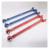 TIANKAI Allenzhang Adecuado BMW 3- Serie BMW E36, E46, M3, Z3, Z4 Red Ajustable Suspension Camber Trasero Menor Control Brazo/Rod/Bar (Color : Red)