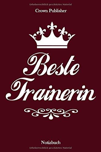 Beste Trainerin: Notizbuch