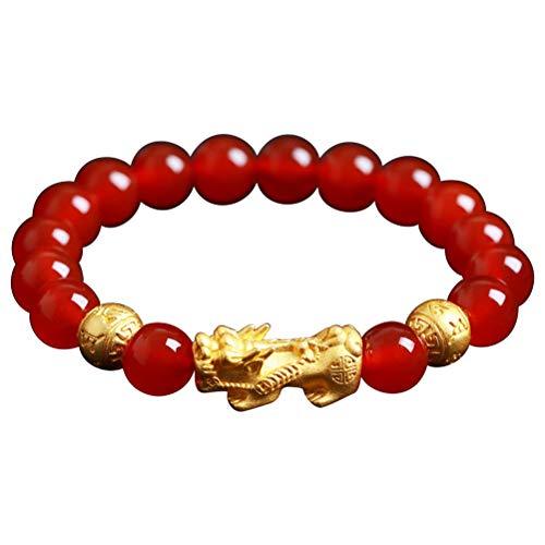 YSMANGO Pulseira, pulseira unissex Feng Shui Good Luck Bracelet Jewelry