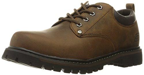 Skechers  Men's Tom Cats Utility Shoe, Dark Brown, 13 M US