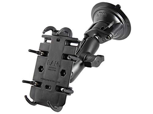 RAM MOUNTS (RAM-B-166-PD3 Universal Rugged PDA Adjustable Twist Lock Suction Cup Mount
