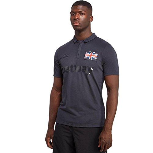 UMBRO–Camiseta de West Ham 3rd de Manga Corta–Réplica de la Camiseta pequeña, Multicolor