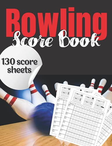 Bowling Score Book: Bowling Score Keeper | Bowling Game Record | Score Sheets for Personal and Team Records