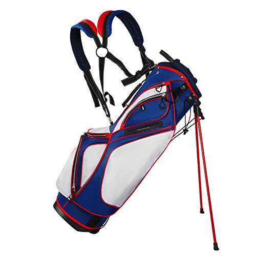 ZQYR Conveniente, Bolso de Golf Black Golf Holeultralight Black Black con Soporte, Base Estable, Fuerte Estabilidad y Durabilidad 417 (Color : White)