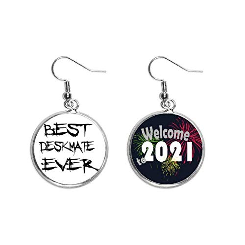 Best Deskmate Ever Ohrringe für die Abschlussjahreszeit 2021 Segen