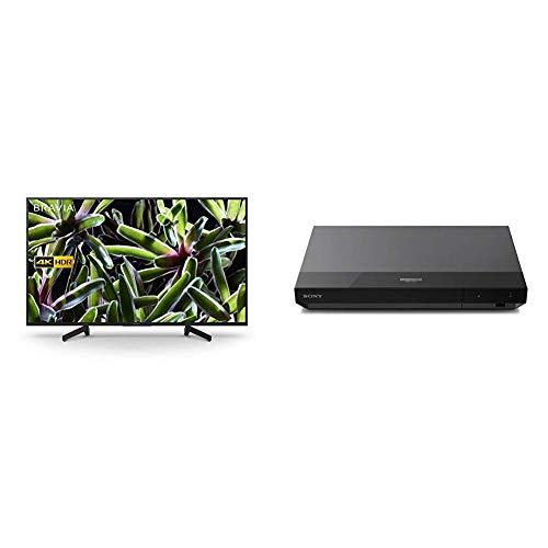 Sony BRAVIA KD43XG70 43-inch LED 4K HDR Ultra HD Smart TV - Black + Sony UBP-X500 4K Ultra HD Blu-Ray Disc Player, Black