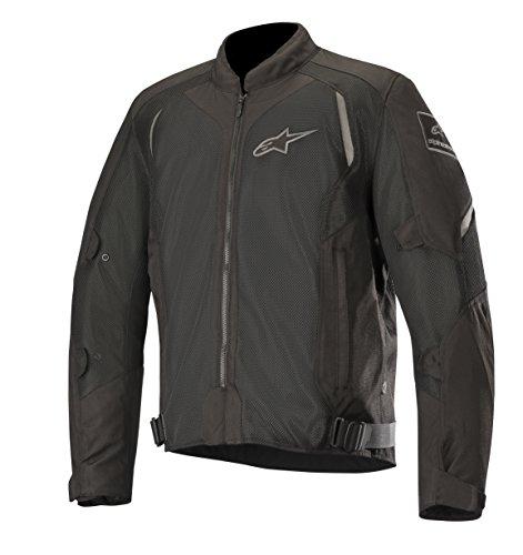 Alpinestars Chaqueta moto Wake Air Jacket Black Black, Negro/Negro, XL