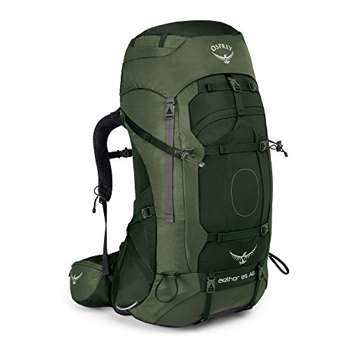 Osprey Aether AG 85L Medium Rucksack, Green, One Size