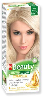 MM Beauty Permanente Haarfarbe MM Beauty Phyto & Farbe 125g - № M20 Perlblond