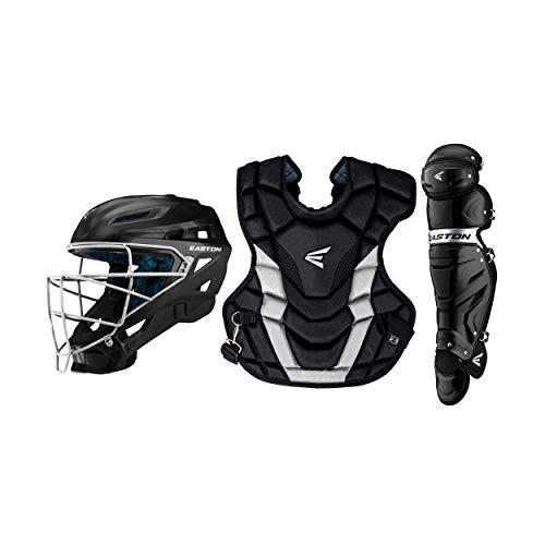 EASTON GAMETIME Baseball Catchers Equipment Box Set, Intermediate, Black
