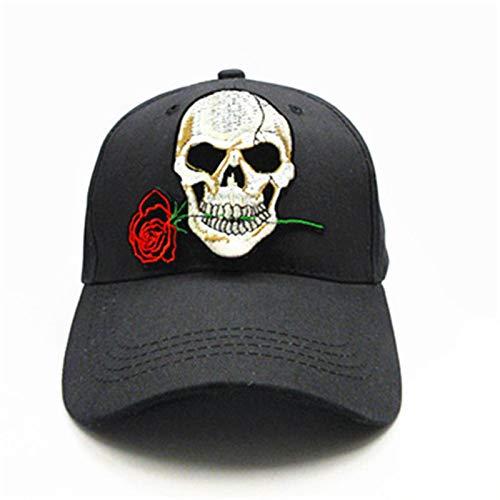 UKKO Gorras de Beisbol Gorra De Béisbol De Algodón De Bordado Hip-Hop Cap Ajustable Snapback Sombreros