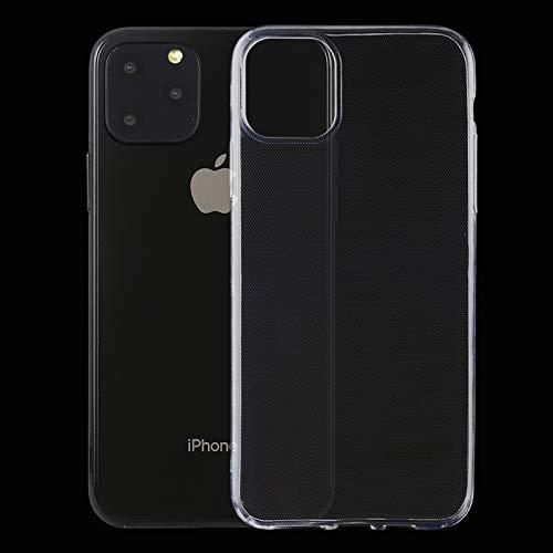 ANTONIDAS Cuero -0.5mm Funda Protectora TPU Transparente Ultrafina para iPhone 11 Pro MAX Gel de sílice
