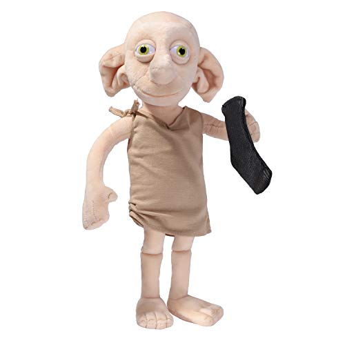 HARRY POTTER Noble Collection Peluche Interactivo Dobby, 32 cm