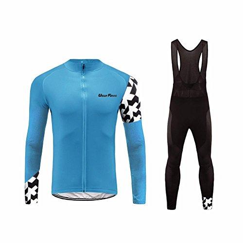 Uglyfrog 2016 Manga Larga Maillot+Bib Pantalones Cortos Bodies Ciclismo De Hombre Verano Ropa De Triatlon Transpirables Cycling Sets #30