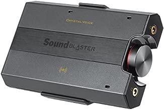 Creative Sound Blaster E5 High-Resolution USB DAC 600 ohm Headphone Amplifier with Bluetooth (Renewed)