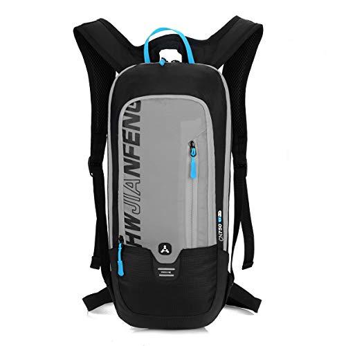BLF Bike Backpack, Waterproof Breathable Cycling Bicycle Rucksack, 10L Mini Ultralight Biking Daypack Sport Bags Gift for Fitness Running Hiking Skiing Trekking