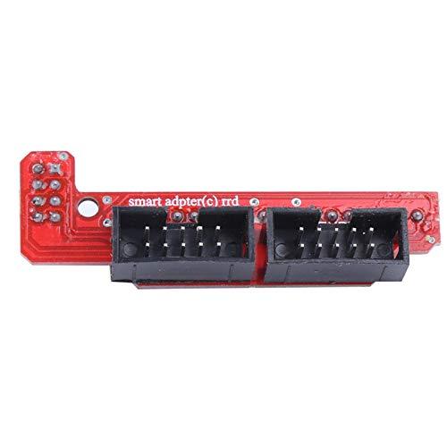 Kit de impresora 3D controlador de motor paso a paso con controlador de motor disipador de calor RAMPS 1.4 tablero de control para tarjeta de memoria para Mega 2560 para R3 CH340