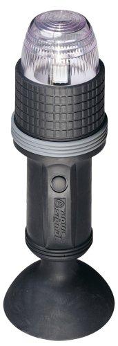 Aqua Signal Batterie Navigationslaterne mit LED Rundumlicht und Saugnapf