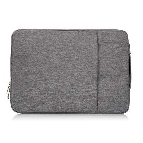 "shangdi for MacBook Pro 15.4"" Laptop Sleeve Case Carry Bag Universal Laptop Bag for MacBook Samsung Chromebook HP Acer Lenovo Dark Blue Grey"