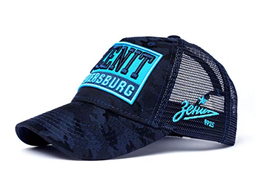 Atributika & Club FC Zenit St. Petersburg Trucker hat with Patch, Russian Soccer, Dark Blue