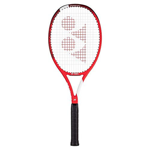 "Yonex VCORE Ace Tennis Racquet, Tango Red (4 1/4"" Grip Size)"