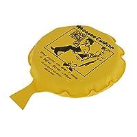 Milageto おかしいブーブークッションおならウーピージョークいたずらギャグトリックパーティーおもちゃ - 黄, 16センチメートル